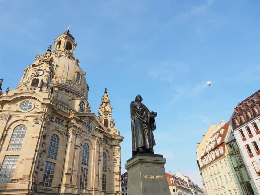 Lutherdenkmal am Neumarkt