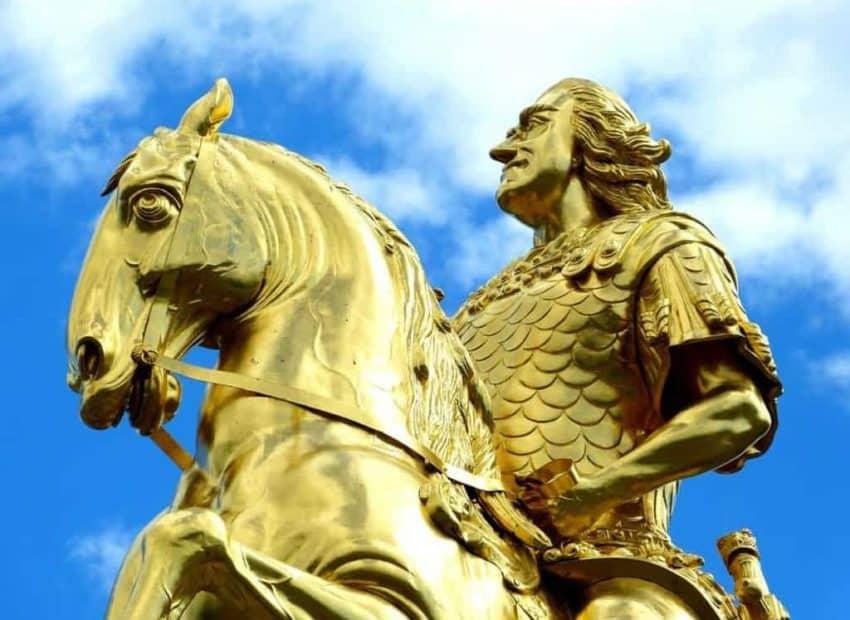 Der Goldene Reiter von Dresden