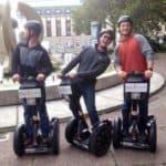 Segway Fun - Männergruppe hat Spaß