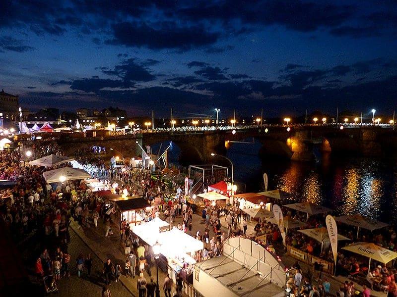 Mit dem Segway zum Stadtfest Dresden
