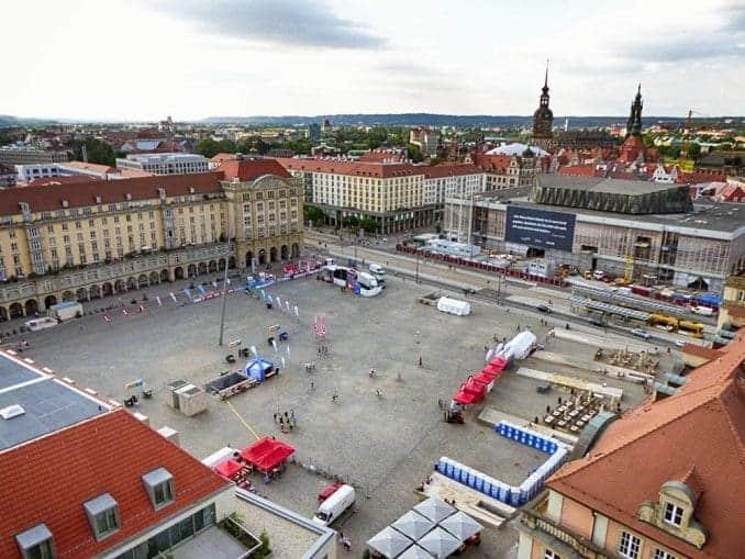 Segway Tour über den Altmarkt Dresden
