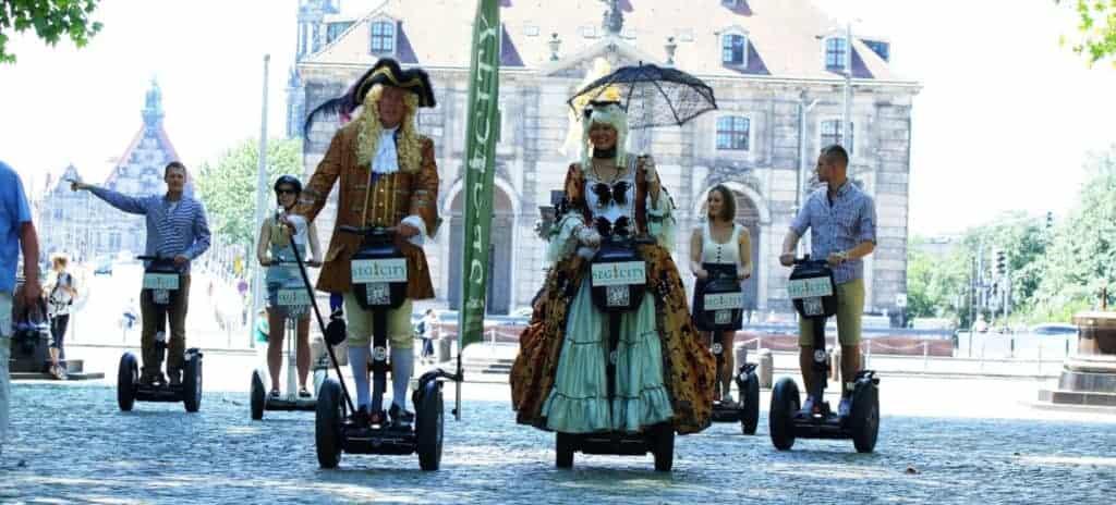 Segway Stadtführung Dresden