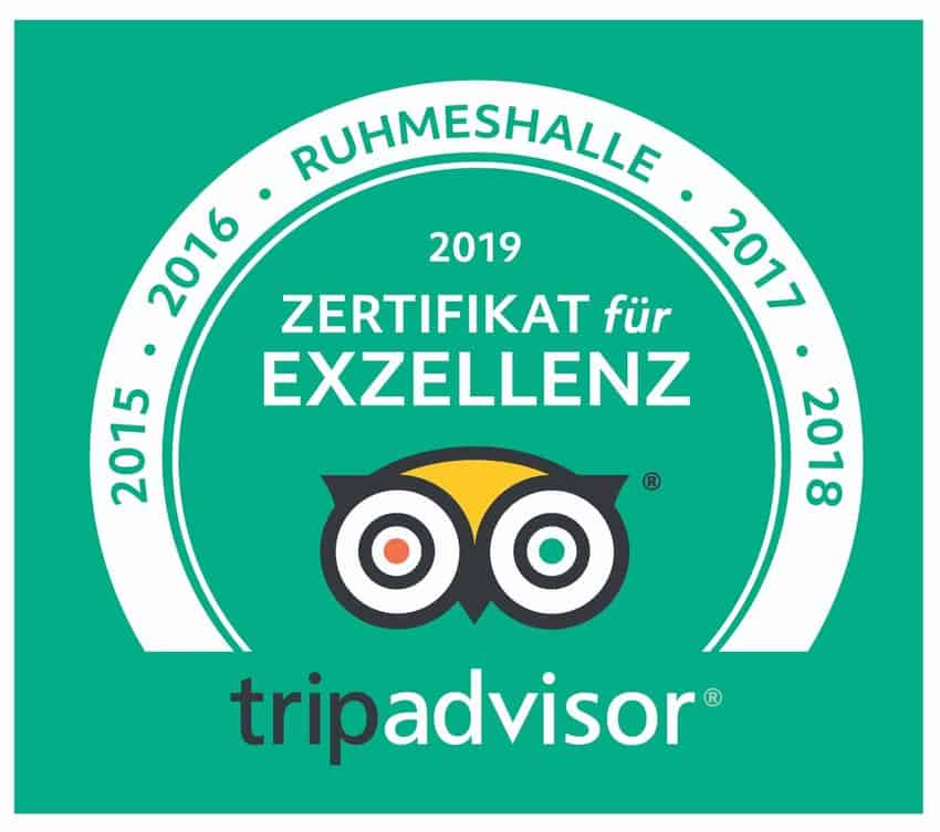 Tripadvisor Zertifikat